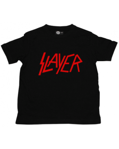 Camiseta Slayer para niños Logo Red