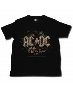 Camiseta rockeras para ninos AC/DC
