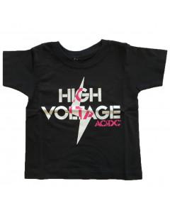 Camiseta AC/DC para niños High Voltage