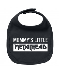 Babero bebe Metal Mommy's little Metalhead