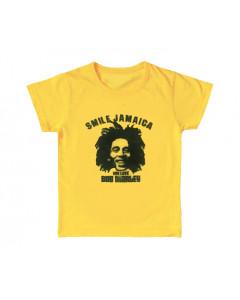 Camiseta Bob Marley Smile Jamaica para niños