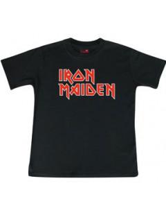 Camiseta Iron Maiden para niños Logo