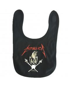 Babero Metallica – Logo white
