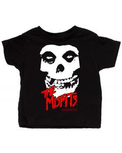 Camiseta Misfits para niños Skull