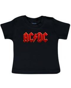 Camiseta AC/DC para bebé Logo Colour