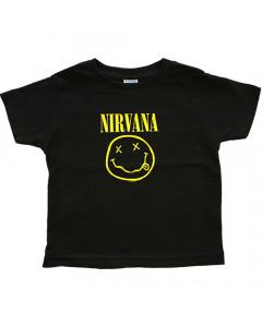 Camiseta Nirvana para niños Smiley