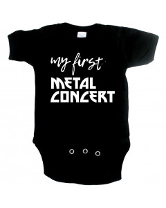 Body Bebé Metal my first Metal concert