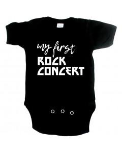 Body Bebé Rock my first Rock concert