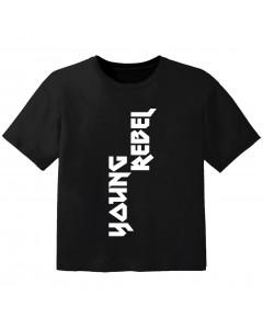 Camiseta Cool para bebé young rebel