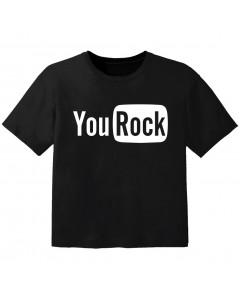 Camiseta Rock para bebé you Rock