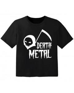 Camiseta Rock para niños death Metal