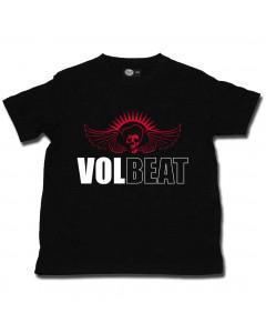 Camiseta Volbeat para niños Skullwing