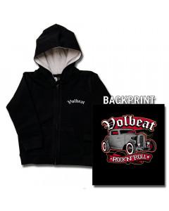 Chaqueta para niños de Volbeat con cremallera y capucha
